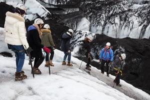 Solheimajökull glacier walk